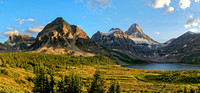 The Towers and Mt Assiniboine