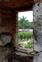 View from inside Casa Santo Domingo Convent